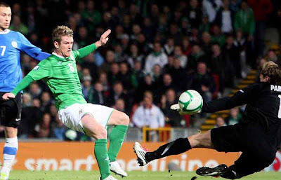 Northern Ireland 1 - 2 Estonia