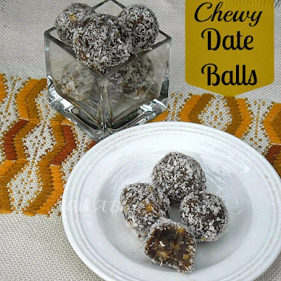 Chewy Date Balls