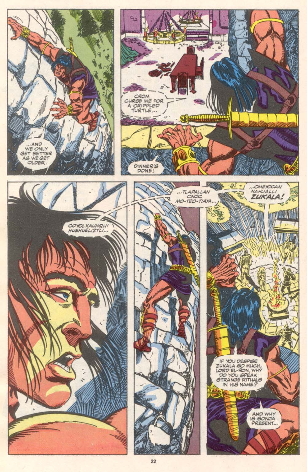 Conan the Barbarian (1970) Issue #242 #254 - English 18