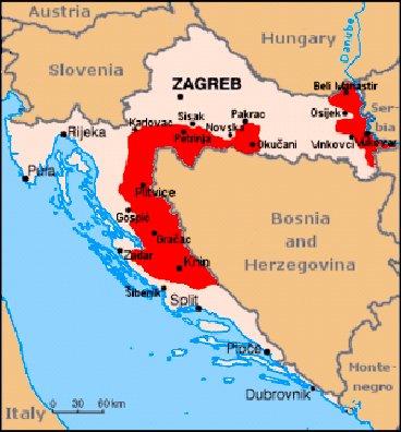 Kroasia Vs Serbia