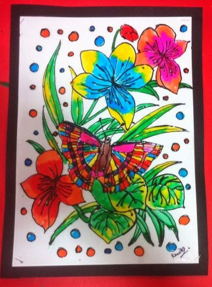 Art craft ideas and bulletin boards for elementary for Summer camp arts and crafts projects