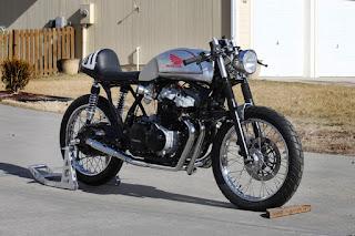 honda cb750 custom cafe racer