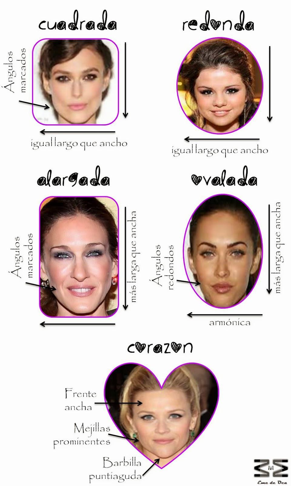 Eme de oca los lentes ideales para tu tipo de cara for Tipos cara