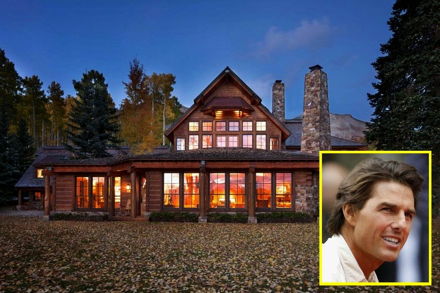 That's right, the handsome actor, 52 has just put his 298 acre Mansion at Telluride, Colorado on market.