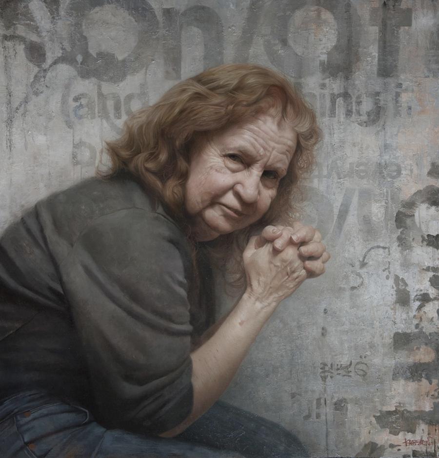 Artodyssey david jon kassan for Mural art on wood