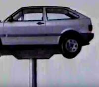 Propaganda do Gol (Volkswagen) em 1994 enaltecendo suas vantagens.