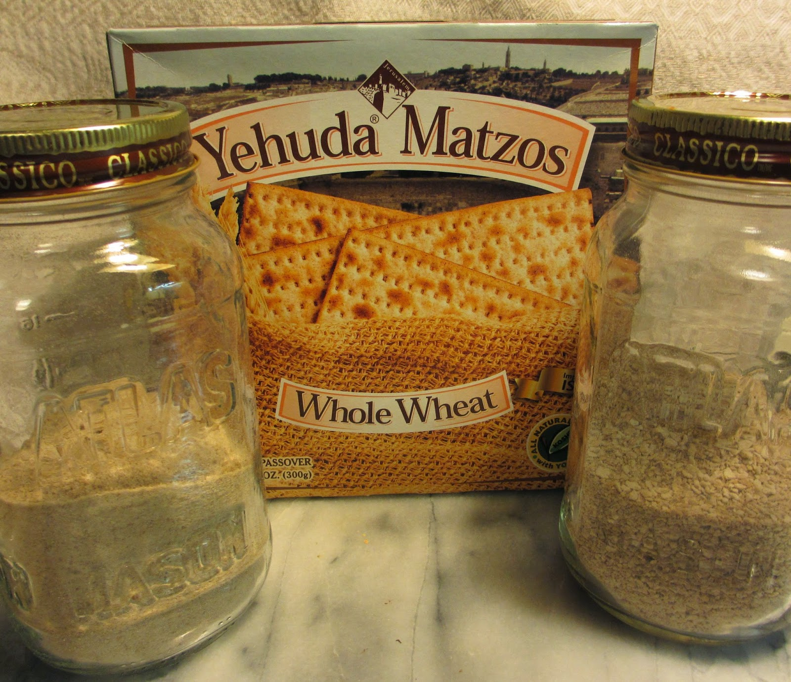 Minka Cooks: DIY Whole Wheat Matzo Meal and Cake Meal