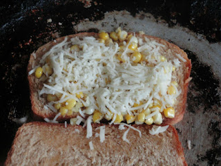 corn cheese sandwich9
