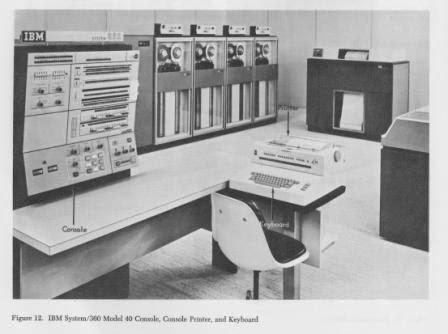 IBM 360 Mainframe Komputer Generasi Ketiga
