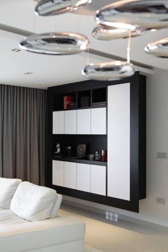 Woodmaster Woodworks Inc Modern Floating Cabinets