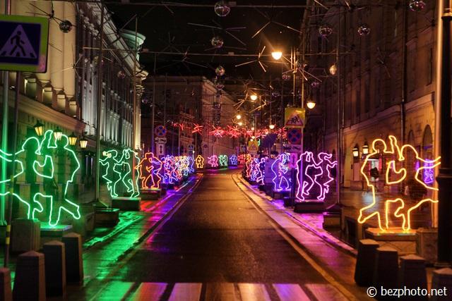 рождественский свет в москве 2015 2016