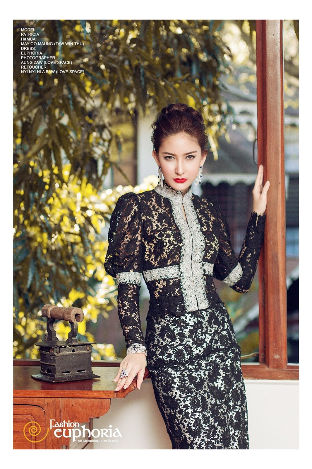 Sue Sha Naing Features Fashion Euphoria