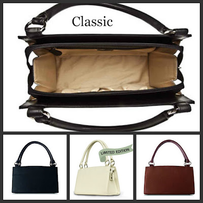 Inside of the Miche Classic Base Bag