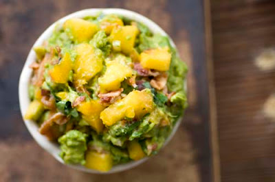 peach bacon guacamole