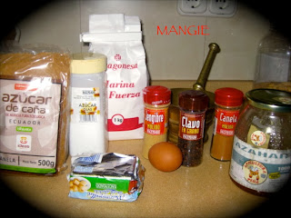Ingredientes galletas de jenjibre