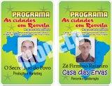 CARTEIRA DO NOSSO PROGRAMA  A CIDADE EM REVISTA