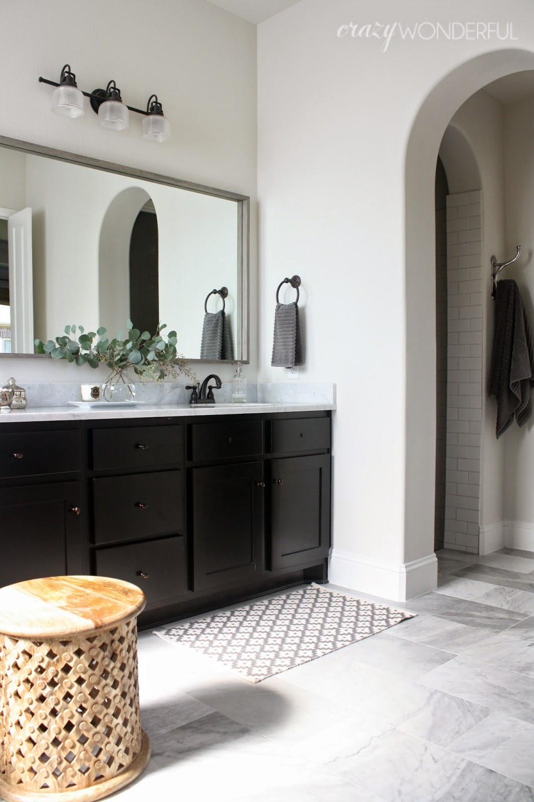 Diy Bathroom Mirror Crazy Wonderful Framed Bathroom Mirror