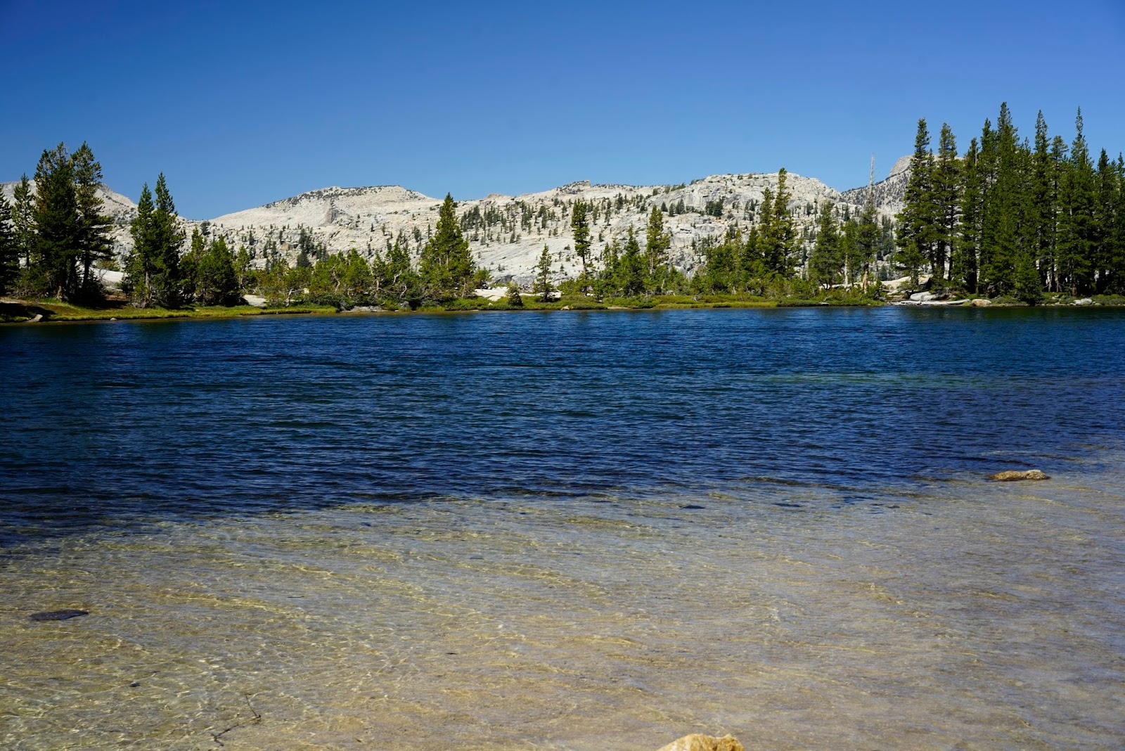 Mid Sierra Musings Yosemite Day Hike To Lower Cathedral Lake