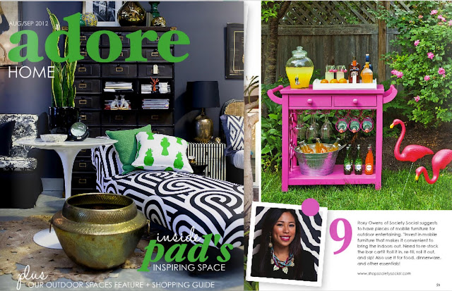 vivid hue home meet roxy and society social. Black Bedroom Furniture Sets. Home Design Ideas