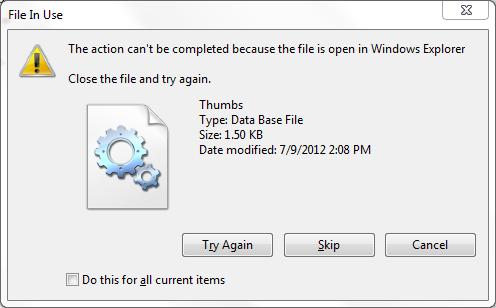 Cara Menghapus File Yang Tidak Bisa Terhapus