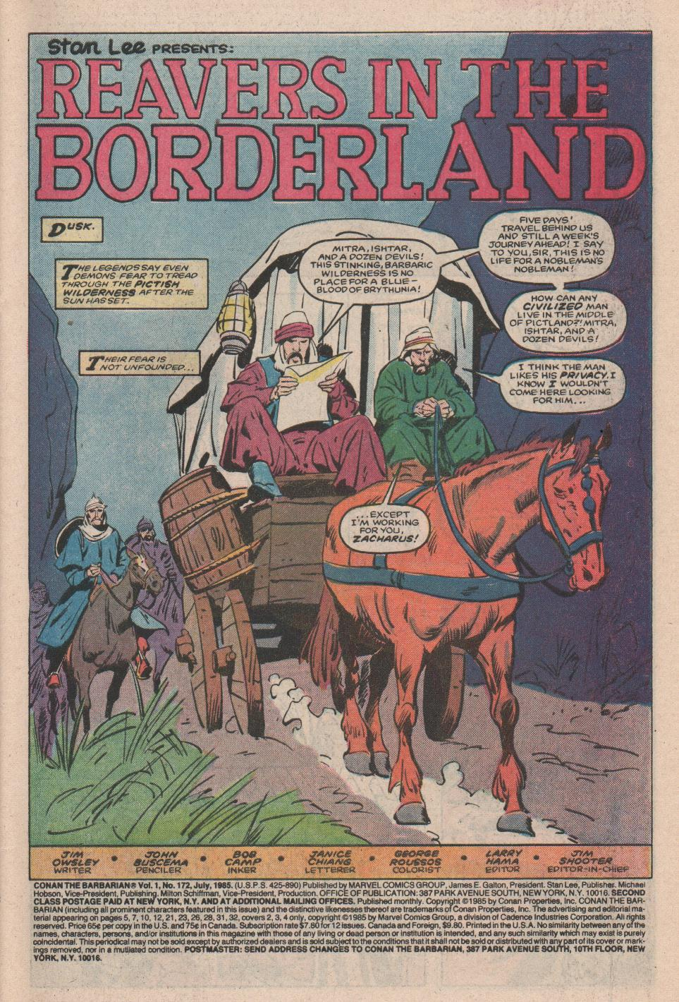 Conan the Barbarian (1970) Issue #172 #184 - English 2