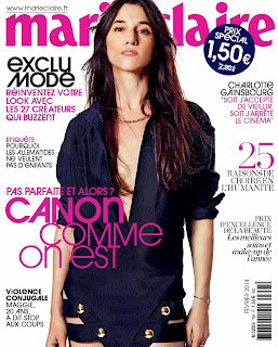 Charlotte Gainsbourg Photoshot For Driu Crilly &Tiago Martel Marie Claire Magazine France February 2014