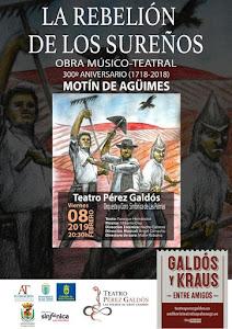 """""""La rebelión de los sureños"""" en el Teatro Pérez Galdós"""