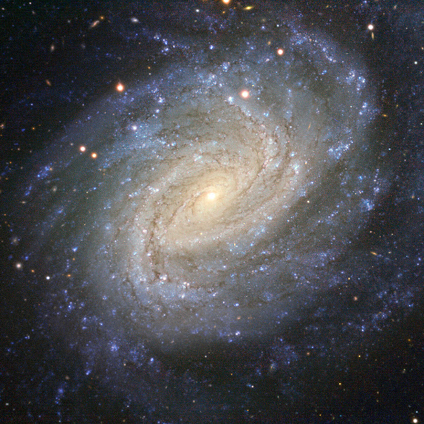 Spiral Galaxy NGC 1187 and Supernova SN 2007Y