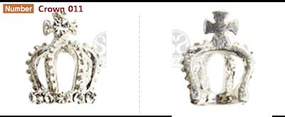 Crown / Tiara Nail deco parts for Royal Nailart work