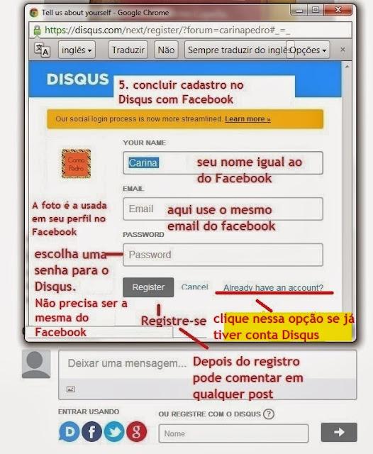 imagem 4 - tutorial - aprenda a usar o Disqus com o Facebook