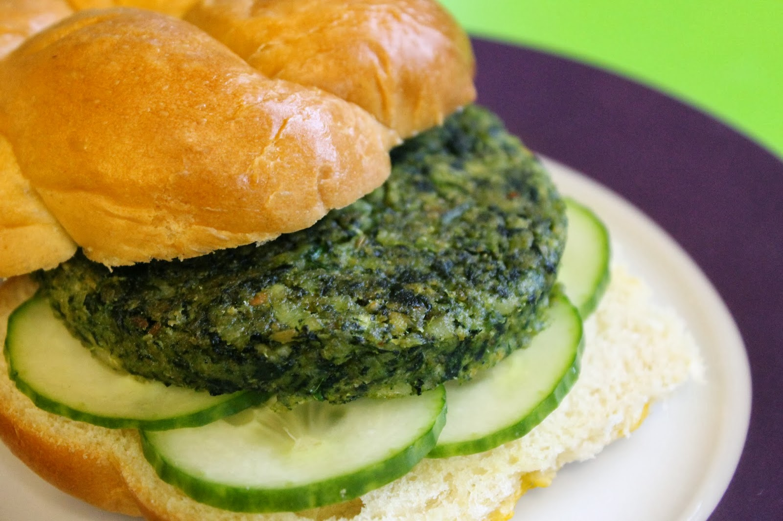 ... Eat Anything With A Face: Spicy Spinach and Chickpea Burgers (Vegan