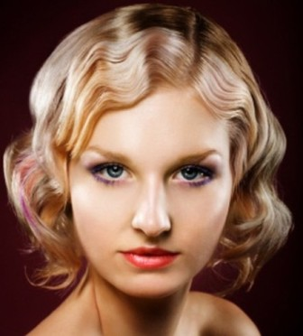 tecktonic hairstyle. Finger Wave hairstyle