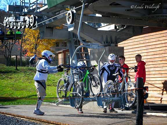 ski lift for bikes