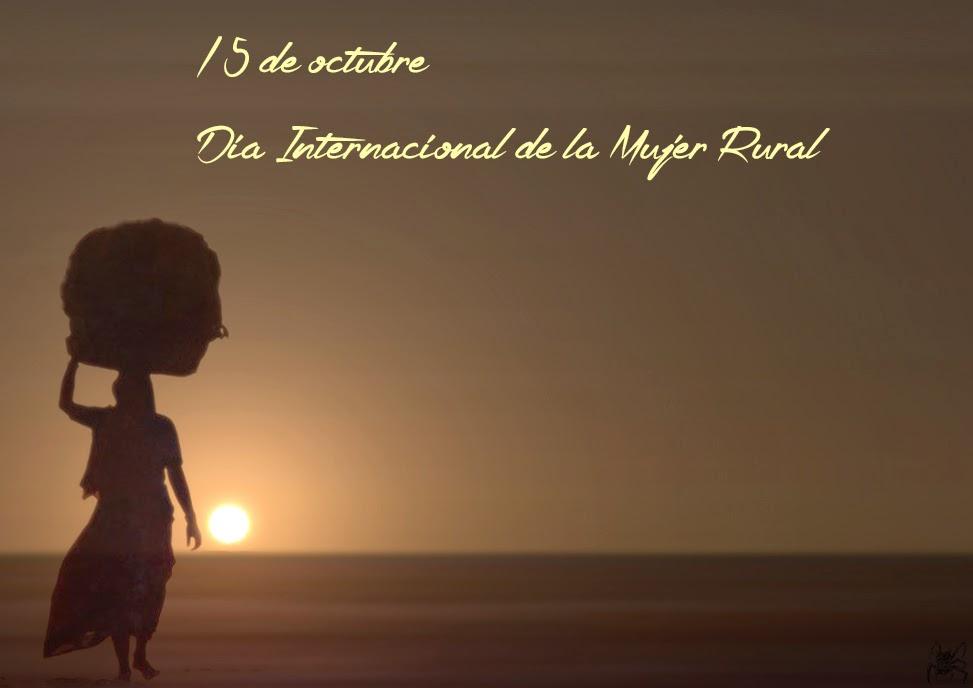 El 15 de octubre es el Día Internacional de la Mujer Rural