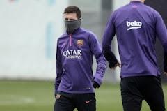 Messi no entrenó con el Barcelona pero igual jugaría frente a River