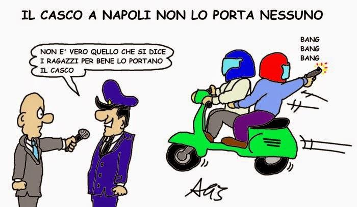 Napoli, casco