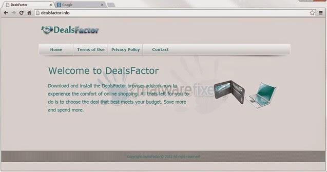 Dealsfactor removal