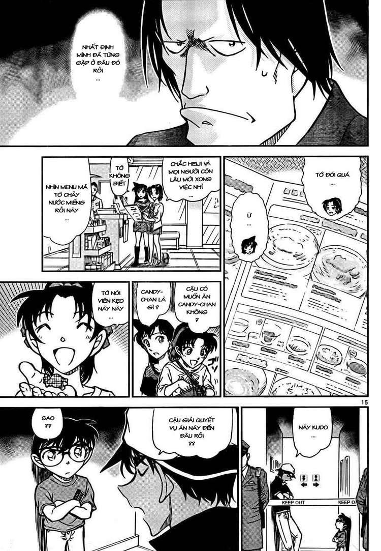 Detective Conan - Thám Tử Lừng Danh Conan chap 778 page 17 - IZTruyenTranh.com