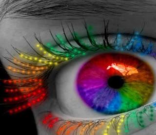 en tus ojos colores del arcoiris