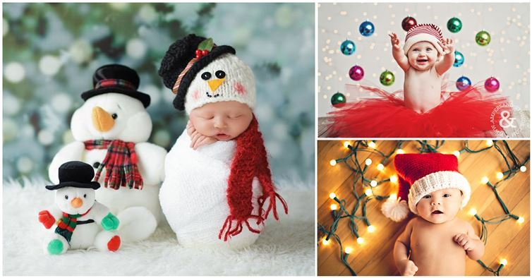 A Babys First Year Is Filled With Dozens Of Milestones But One The Highlights For Many New Parents Christmas