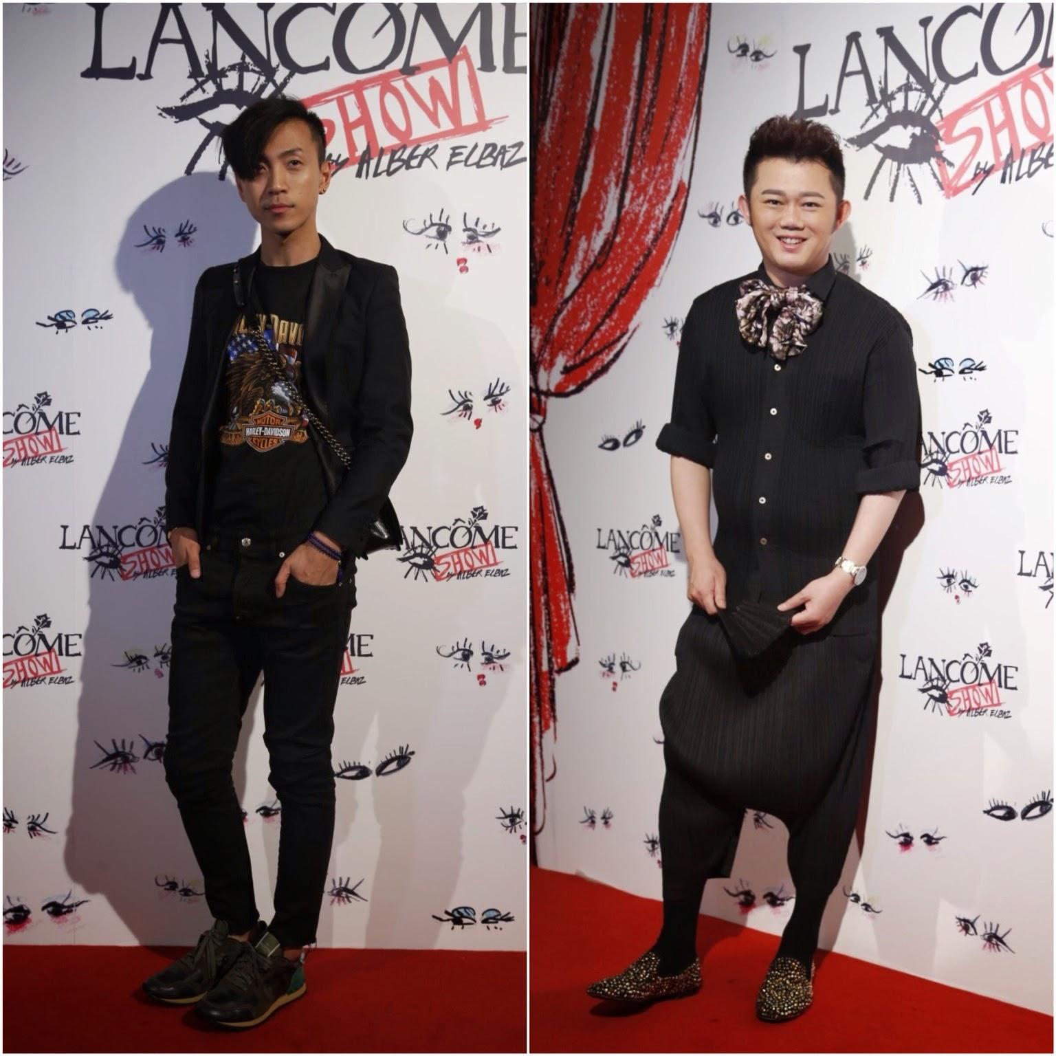 00O00 Menswear Blog Alber Elbaz x Lancôme Launch, Beijing 时尚先锋 Alber Elbaz 现身北京举办盛大时尚派对,李东田,韩火火到场助阵