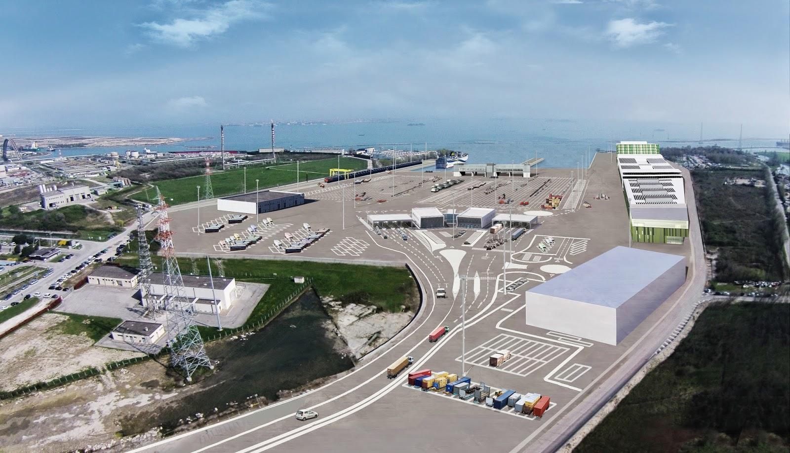Apre il nuovo porto intermodale hi-tech di Venezia