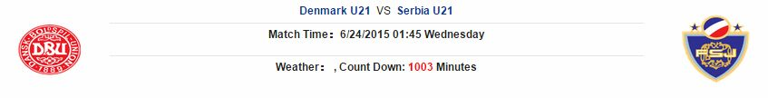 Kèo thơm cá cược U21 Đan Mạch vs U21 Serbia