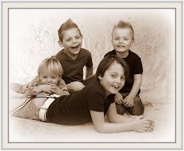 ik ben trotse moeder van deze 4 boys