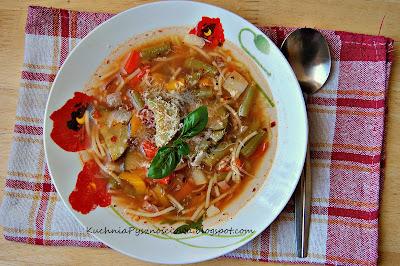 82. Minestrone, czyli włoska zupa warzywna