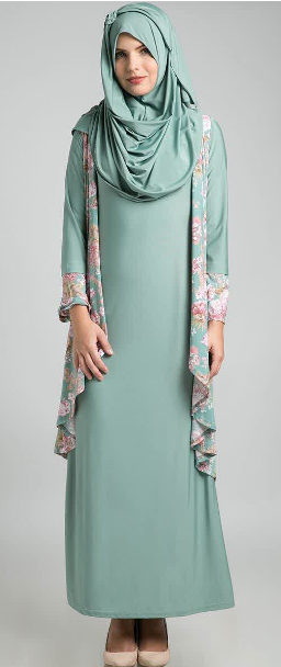 Model Baju Dress Pesta Muslim