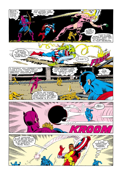 Captain America (1968) Issue #317 #245 - English 21
