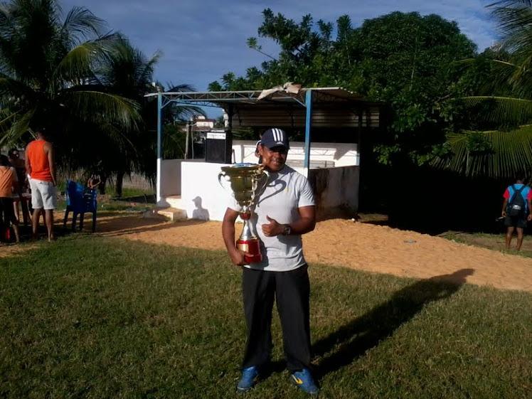 vice campeão do torneio início da liga de nova parnamirim