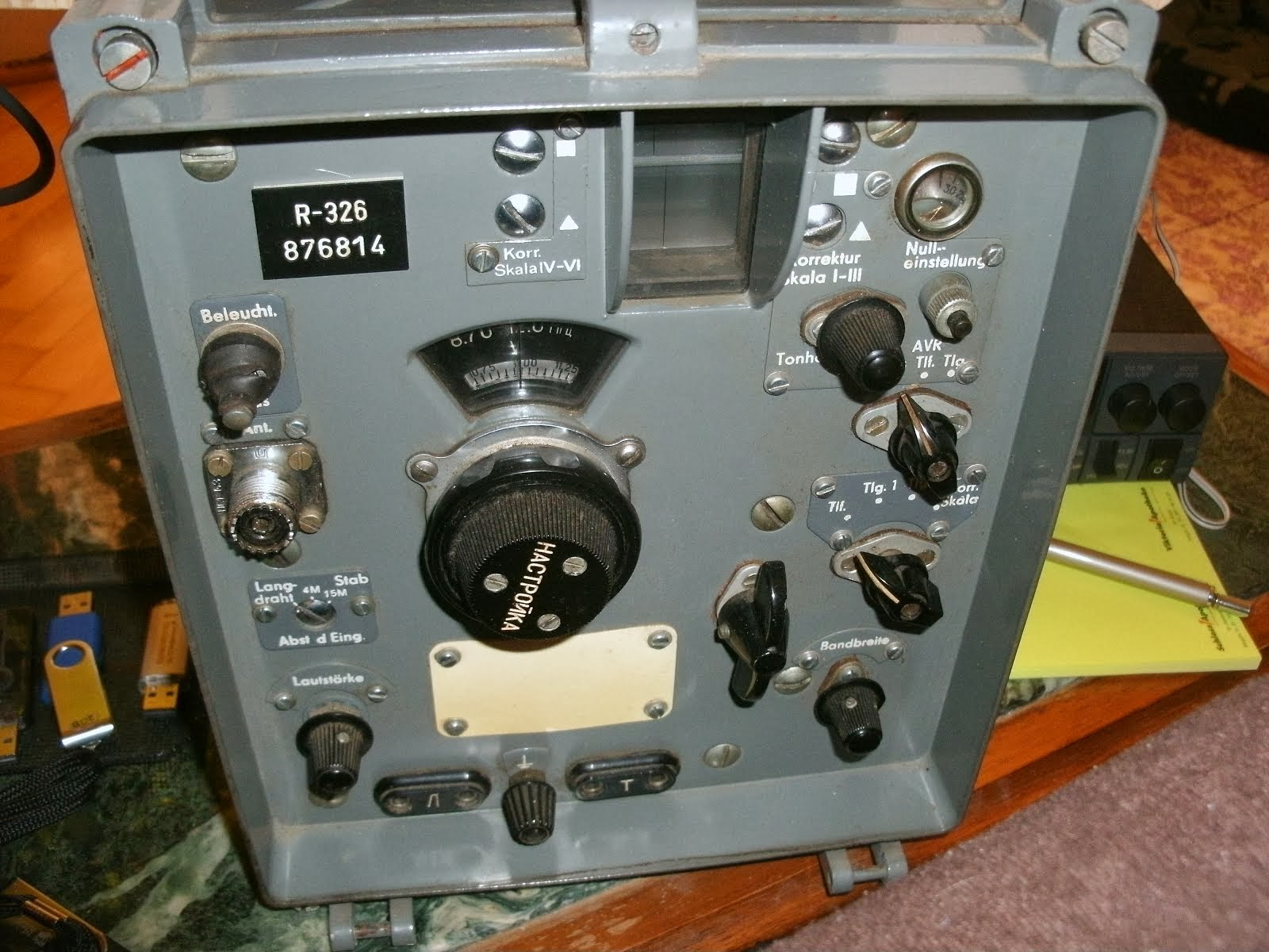 Surplus Receiver R-326 (aus Russland)