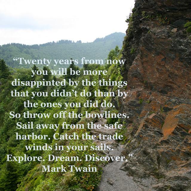 Mark Twain Quote, The Daily Wild, Rachel Brandt